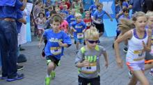 IMAGE: 160 compete in Ironkids fun run