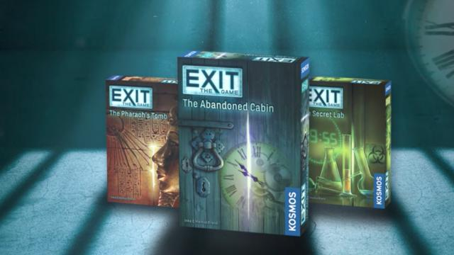 The Exit games by Thames and Kosmos come in three flavors. There is the Pharaoh's Tomb, the Abandoned Cabin and the Secret Lab. (Deseret Photo)