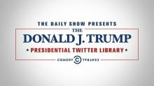 IMAGE: Tour the 'Trump Presidential Twitter Library' without leaving your home