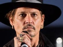 Johnny Depp jokes about assassinating President Trump
