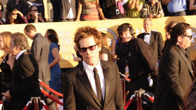 """Syfy announced on June 27, 2017 that it has ordered a pilot for a TV series based on 1990's """"Tremors,"""" starring Kevin Bacon. Pictured is Kevin Bacon at the 2012 SAG Awards"""