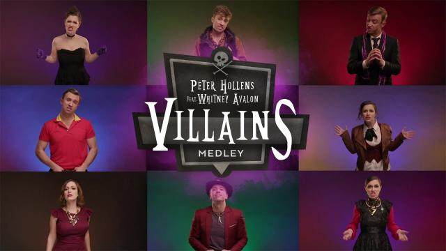 "YouTube personalities Peter Hollens and Whitney Avalon released a new video medley featuring the antagonists who often get what Hollens called the ""best songs in the whole movie."" (Deseret Photo)"