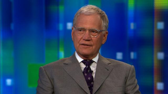 David Letterman is tired of all the talk about President Trump's incompetence. The former late night host wants to see some action. Pictured is longtime TV talk show star speaking to CNN in 2012.