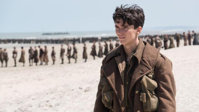 "Fionn Whitehead as Tommy  in ""Dunkirk."" (Deseret Photo)"