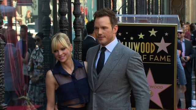 Actors Anna Faris and Chris Pratt have filed for separation, according to statements posted on their official social media pages. (File Photo)