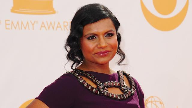 "Mindy Kaling is ""really excited"" about becoming a first-time mom."