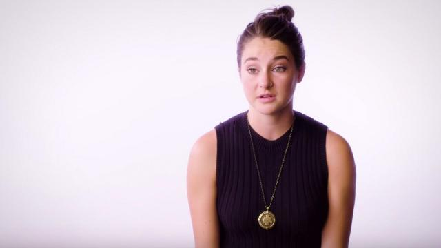 File- Actress Shailene Woodley considered future run for Congress as volunteer for Bernie Sanders.