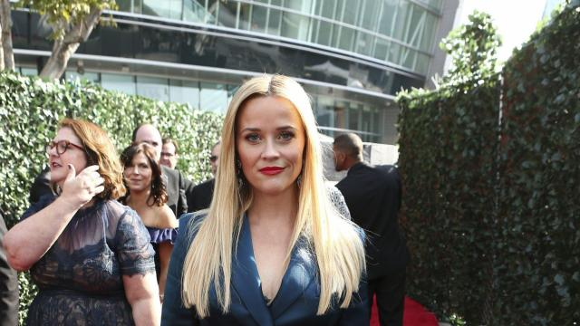 Reese Witherspoon on the Red Carpet at the 69th Primetime Emmy Awards, Sunday, September 17, 2017.