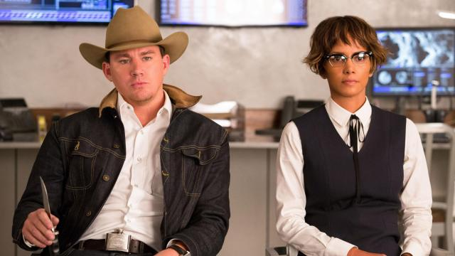 """Channing Tatum and Halle Berry in """"Kingsman: The Golden Circle."""" (Deseret Photo)"""