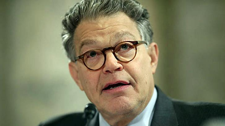 Senator Al Franken Drew A Freehand Map Of The United States For