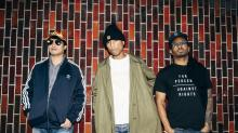 IMAGES: Happy No More, Pharrell Williams and N.E.R.D Want to Wake You Up