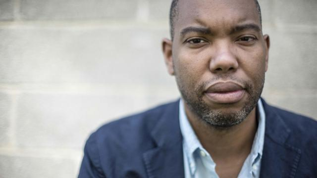"""FILE -- Author Ta-Nehisi Coates in Baltimore, July 16, 2015. Coates deleted his Twitter account on Dec. 19, 2017, after sparring with the Harvard professor Cornel West. It started days earlier, when West published an article in The Guardian calling Coates """"the neoliberal face of the black freedom struggle,"""" and accusing him of """"fetishizing white supremacy"""" while ignoring """"Wall Street greed, U.S. imperial crimes or black elite indifference to poverty."""" (Gabriella Demczuk/The New York Times)"""