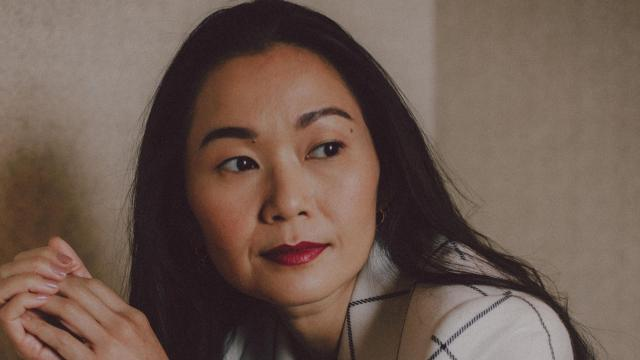 """Actress Hong Chau in the Mandarin Oriental New York, Dec. 13, 2017. After a year without auditions, Chau is now a supporting actress contender for her role as a dissident who loses a leg while escaping Vietnam in the film """"Downsizing."""" (Nathan Bajar/The New York Times)"""