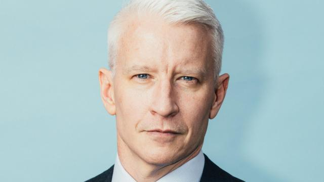 Anderson Cooper, the CNN anchor, in New York, Dec. 18, 2017. In their less-famous days, a mutual friend tried to set Cooper up on a blind date with Andy Cohen; it never happened, but the future two television mainstays eventually became fast friends anyhow. (Andrew White/The New York Times)