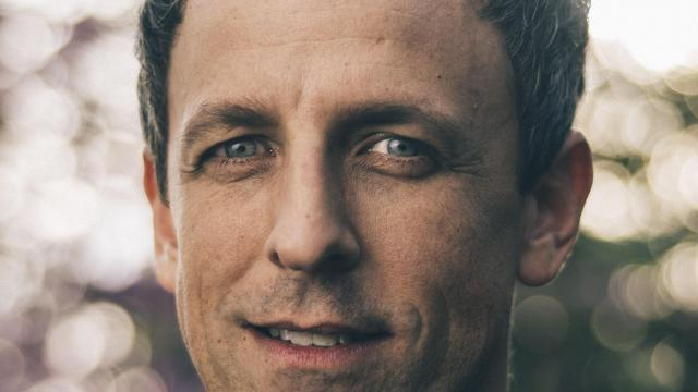 """Seth Meyers, the host of NBC's """"Late Night,"""" in Burbank, Calif., Jan. 2, 2018. Meyers is preparing to host the Golden Globes, which will be Hollywood's first major award show following a year in which the entertainment industry was roiled by one sexual misconduct scandal after another. """"It's an issue you have to address, and it's pretty delicate,"""" Meyers said. (Michael Friberg/The New York Times)"""