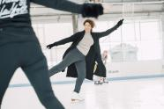 IMAGE: Vocalist on Ice Inspired by Skating Rivalry