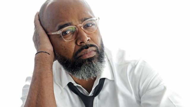 """Salim Akil, the show runner and an executive producer of """"Black Lightning,"""" in Atlanta, Jan. 2, 2018. Based on the DC crime fighter, this new CW series takes on present-day issues of race and social justice directly and unambiguously. (Johnathon Kelso/The New York Times)"""