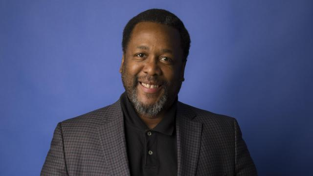 """The actor Wendell Pierce, Jan. 30, 2018. Pierce recalled the summer before fifth grade and his first year being bussed to a white school in New Orleans, when his dad gave him The Talk. """"He taught me to confront the insidiousness of racism head on, no matter what the ramification, so it will not fester,"""" Pierce said. """"Defeat it and get past it."""" (Tony Cenicola/The New York Times)"""