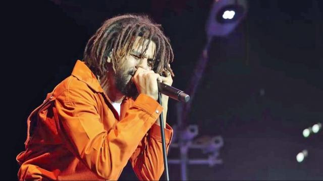 J. Cole breaks first-day streaming record with new album