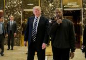 IMAGES: On the Right, Kanye West Is Embraced as an Ally
