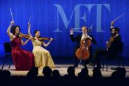 IMAGE: Review: Chiara Quartet Says Farewell on a High Note