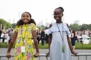 IMAGES: Meet the 11-Year-Old Girls Whose Music Wowed the Philharmonic