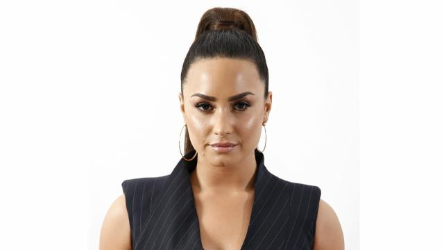 "Singer Demi Lovato poses for a portrait to promote her album ""Tell Me You Love Me"" in September 2017."
