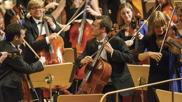 "A photo provided by Peter Adamik of the European Youth Orchestra. The orchestra is relocating from London to Ferrara, Italy, before Britain leaves the European Union. ""You can't ask for EU funding and then not be in the EU,"" its chief executive, Marshall Marcus, pointed out. (Peter Adamik/The New York Times) -- NO SALES; FOR EDITORIAL USE ONLY WITH NYT STORY MUSIC BREXIT BY ANDREW DICKSON FOR AUG. 7, 2018. ALL OTHER USE PROHIBITED. --"