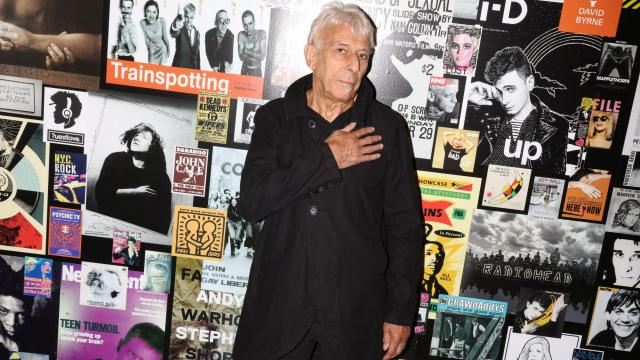 "John Cale visits ""The Velvet Underground Experience,"" a new 12,000-square-foot exhibition dedicated to his old band, in Manhattan, Oct. 6, 2018. Cale, the only surviving member of the original lineup, says the New York of today feels like a shadow of the one that drove the Velvet Underground's music. ""It's a little alien; it's like I'm looking at a replica,"" he said. (Rebecca Smeyne/The New York Times)"