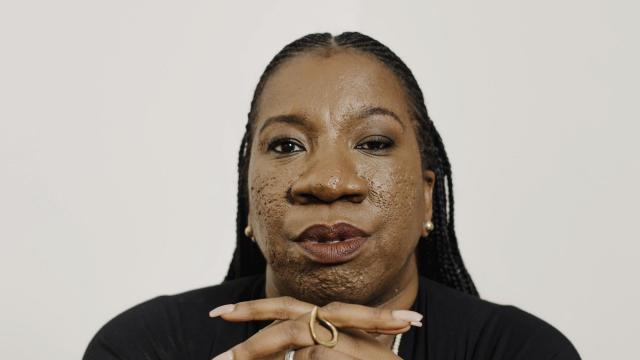 Tarana Burke, who founded the original Me Too movement more than a decade ago, in New York, Oct. 12, 2018. In the year since the movement upended entertainment and politics, Burke has been working to ensure that Me Too doesn't lose sight of its mission: to connect survivors of sexual assault to the resources they need in order to heal. (Heather Sten/The New York Times)