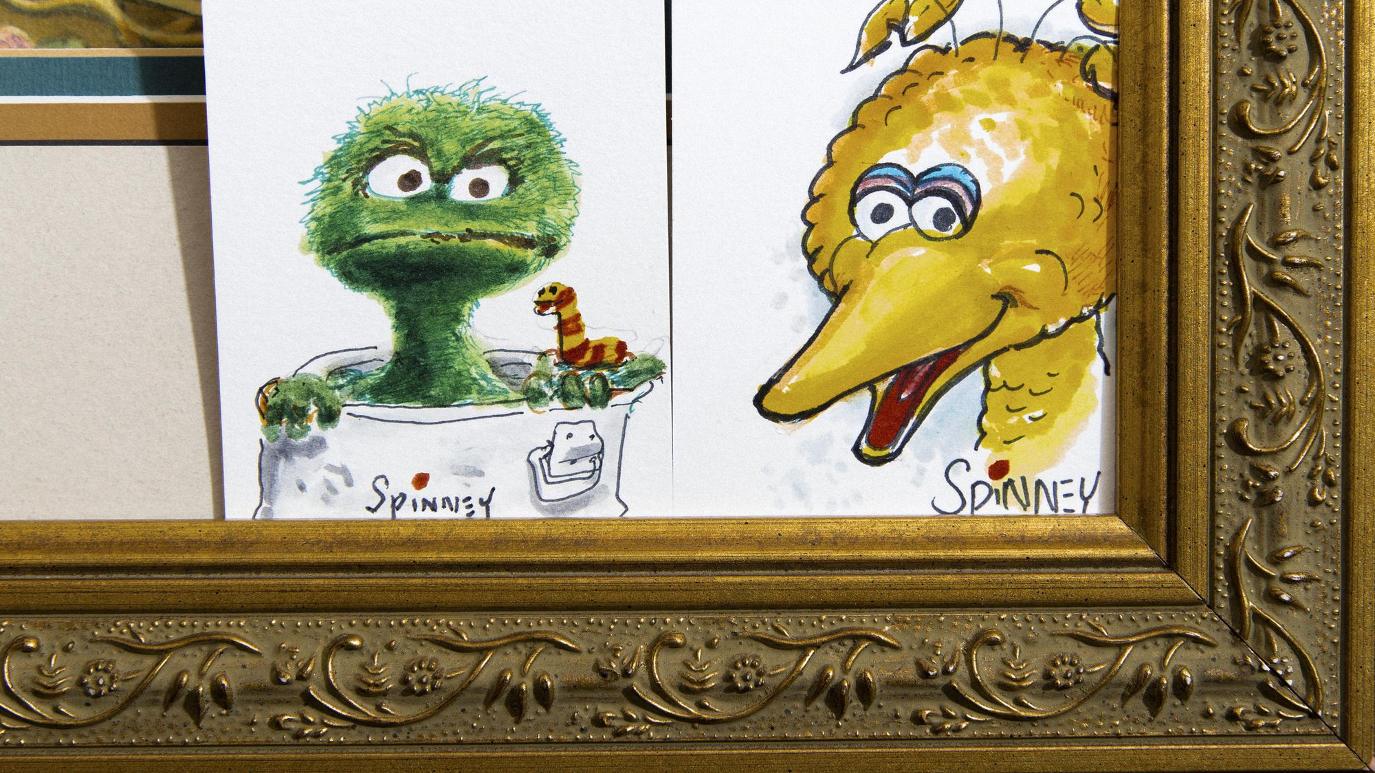 Original Big Bird Caroll Spinney Leaves Sesame Street