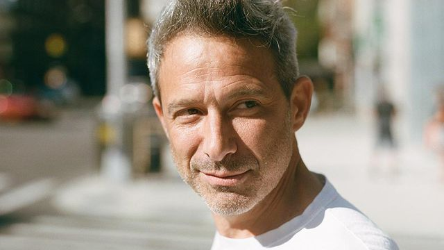 "The Beastie Boys' Adam ""Ad-Rock"" Horovitz, in Manhattan, Aug. 23, 2018. After the death of Adam Yauch, Michael ""Mike D"" Diamond and Horovitz worked to capture the groundbreaking group's aesthetic and legacy on the page. (Brad Ogbonna/The New York Times)"