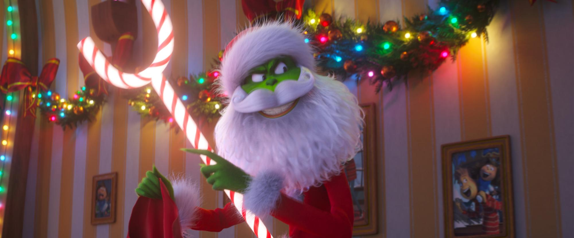 The Grinch Christmas Tree Movie.Movie Review You Re A Mean One Mr Cumberbatch In