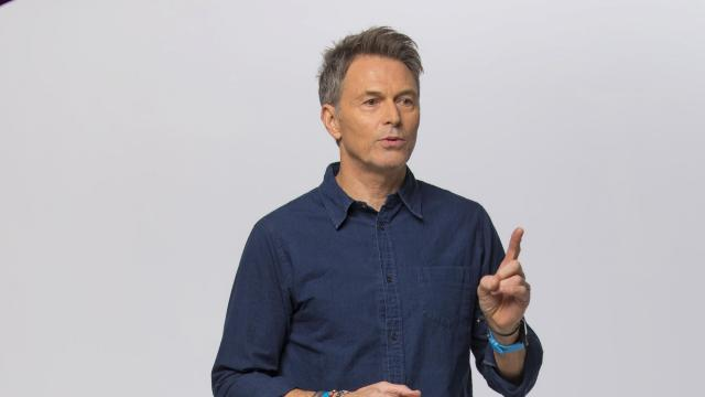 "Tim Daly in New York, Oct. 19, 2018. Daly who is shooting his fifth season of CBS' ""Madam Secretary,"" is performing with his sister Tyne for the first time together in New York in ""Downstairs."" (Tony Cenicola/The New York Times)"