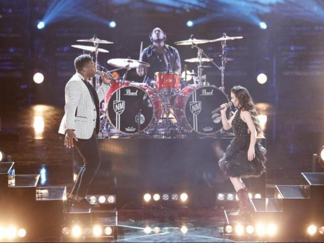 Singers Kirk Jay and Chevel Shepherd performed a duet together. <br/>Web Editor: Yesenia Jones