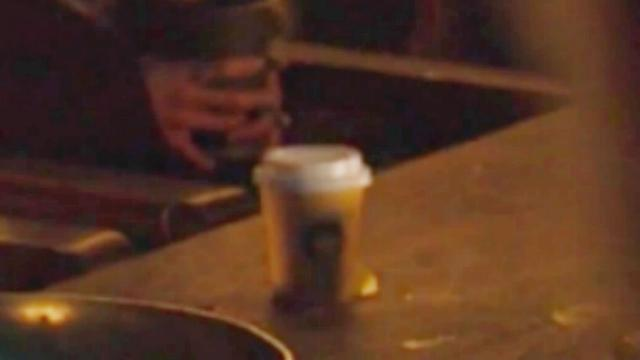 Twitter is convinced it's a Starbucks cup, but it really could be from anywhere. (HBO)