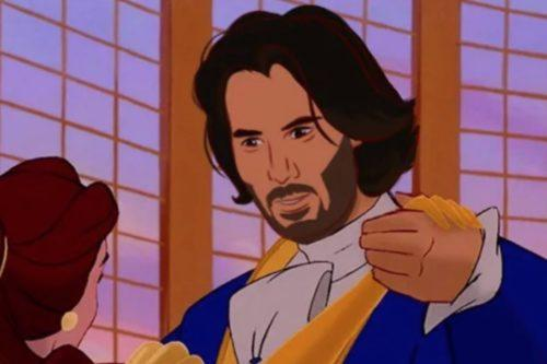Someone Photoshopped Keanu Reeves Into Tons Of Disney Movies And It's Amazing (Simplemost Photo)