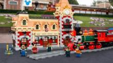 IMAGE: Lego's New Disney Train Station Set Has More Than 2,900 Pieces