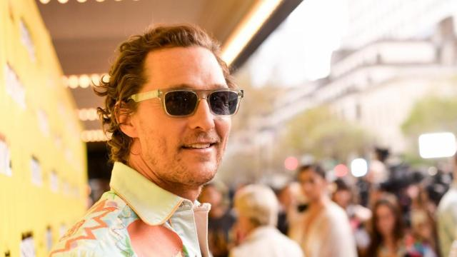 """AUSTIN, TEXAS - MARCH 09: Matthew McConaughey attends the """"The Beach Bum"""" Premiere 2019 SXSW Conference and Festivals at Paramount Theatre on March 9, 2019 in Austin, Texas. (Photo by Matt Winkelmeyer/Getty Images for SXSW)"""
