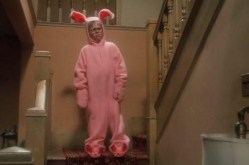 Build-A-Bear Released A 'Christmas Story' Ralphie Bear Wearing His Pink Bunny Suit (Simplemost Photo)