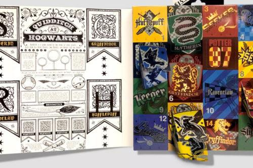 NEW 2020 Women/'s Harry Potter 15 Days of Socks Advent Calendar-Hogwarts Crest
