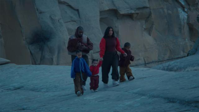 "A scene from Kanye West's ""Closed on Sunday"" music video."