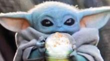 IMAGE: Here's How To Order A Baby Yoda Frappuccino At Starbucks