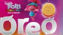 IMAGE: You Can Now Buy New 'Trolls' Oreos With Glittery Pink Or Green Creme