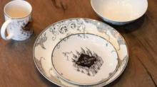 IMAGE: Target Is Selling An Elegant Porcelain Harry Potter Dinnerware Set