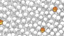 IMAGE: Find The Ghost Among The Skeletons In Halloween Brainteaser