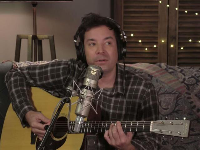Jimmy Fallon spoofs Taylor Swift's 'Folklore' in a parody documentary