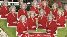 IMAGE: Surprise Your 'Golden Girls'-loving Valentine With A Yard Full Of Red 'Roses'