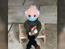 Bids for Bernie Sanders crochet doll top $15 million
