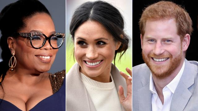 Oprah Winfrey lands primetime special with Meghan and Prince Harry